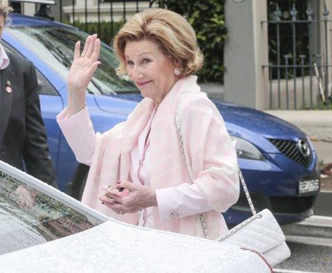 DRONNING SONJA: Dronningen skal delta på Torget og under festgudstjenesten i Immanuels kirke.