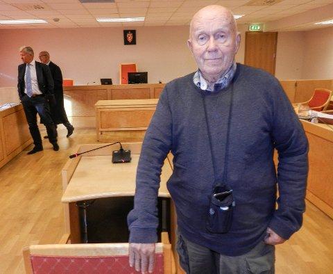 """VITNE: Kjell Arvid Pettersen fortalte om """"Rødnabbenveien"""", som den ble kalt på folkemunne."""