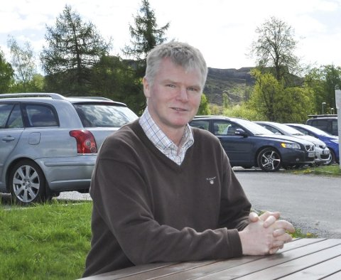 AVKREFTER: Forskningsdirektør Atle Valseth ved IFE avkrefter at det foregår, eller noen gang har foregått en nedsmelting ved Haldenreaktoren