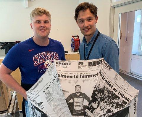 Ole Jacob og Daniel er klar med en ny episode av Sportsprat.