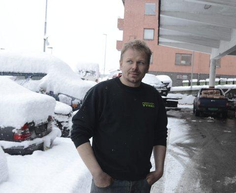 THORD PAULSEN: Bilbergaren frå Odda trur mindre saltbruk vil gi han færre oppdrag. Arkivfoto: Eli Lund
