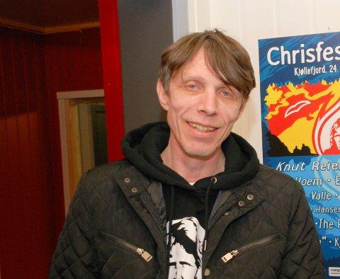 DØDE JULAFTEN: Olsen døde etter lang tids sykdom. Her er han avbildet som bookingsjef for Chrisfestivalen sommeren 2018.