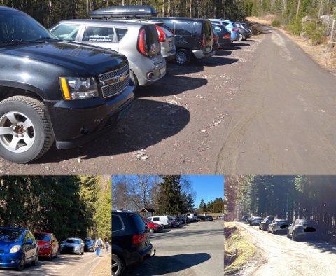 TURPÅSKE: Langfredag var den store utfartsdagen i vårt distrikt, noe disse bildene fra en rekke lokale utfartssteder er et solid bevis på.