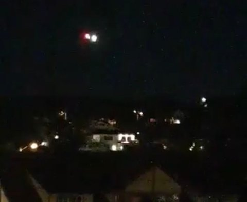 TIL SYKEHUS: Luftambulansen fløy fra Kragerø i 03.00-tiden natt til lørdag.