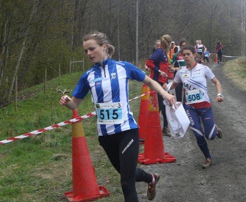 GOD: Ingjerd Myhre var nest beste norske jente i verdenscupen i Finland.