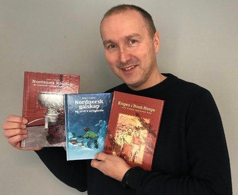 Ronny Trælvik, den utrettelige forlegger og forfatter.