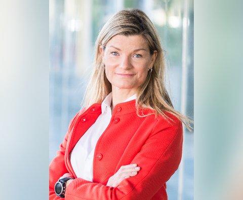 JOBBSKIFTE: Karina Birkelund går fra BKK til Småkraft. Hennes nye arbeidsgiver har 30 kraftverk i Midt-Norge, en fast operasjon på Flatanger og utlyst stilling driftsansvarlig for regionen.
