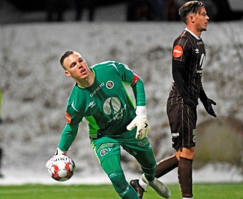 GOD DEBUT: Idar Lysgård Nordby tok godt vare på sjansen han fikk mulighet fra start i eliteserien.