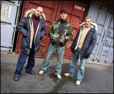 PLASS 30: Hiphop-gruppa Warlocks under et besøk i Kampen barnehage i storhetstida. Låta «East Of Oslo» er en av tidenes Oslo-sanger, men den når ikke helt til topp i Avisa Oslos kåring.