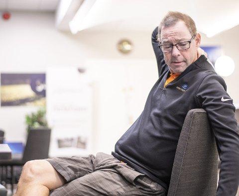 Den lange veien: Jarle Kristiansen gråter når han snakker om dagen han fikk beskjed om at legene hadde funnet en ny nyre til ham. Operasjonen kom etter 1.212 netter med dialyse og 1.008 dager på venteliste for et nytt organ. Nå håper han helgens golfturnering vil rekruttere flere organdonorer. Alle foto: Vidar Sandnes