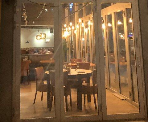 STENGER: Det er ikke liv laga for restauranten i storsenteret.