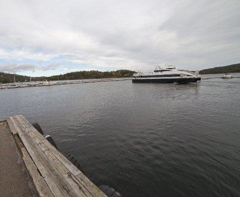NY HAVN: Ruter har lagt inn en havn i Sætre i sin mulighetsstudie.