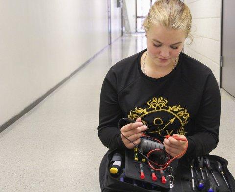 Tar utfordringen: 16-åringen gleder seg til å begynne med noe helt annerledes. – Selv om det kan bli vanskelig, tar jeg utfordringen på strak arm, sier Else-Marie Aarsheim.