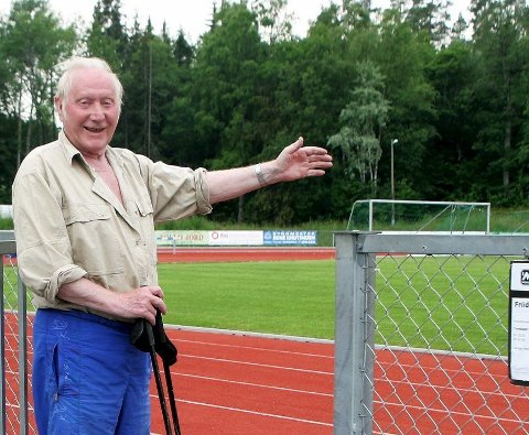 Huskes: Helge hansen var er kjent og betydningsfult ansikt rundt Bergerbanen.