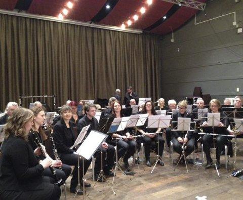 Meget godt resultat: Drøbak musikkorps sikret seg 90 poeng og en imponerende 4. plass i NM.Foto: Privat