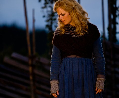 SOLVEIGS SANG: Silvia Moi som Solveig i Peer Gynt på Gålå.