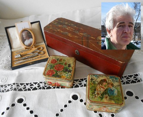 Vi kan lese om tante Johanne, som var hushjelp og kokke i finere familier både i Sulitjelma og Kristiania (Oslo). Her fikk hun fine gaver og gjenstander, skatter