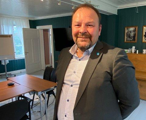 Muligheter: Kommunedirektør Odd-Børge Pedersen mener han er kommet til en ressurssterk kommune med mange muligheter.
