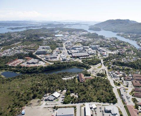 Straume blir kommunesenternår Fjell, Sund og Øygarden går sammen i Øygarden                                               kommune fra nyttår. Ledigheten synker i Fjell, men er høy i de to andre. FOTO: ARNE RISTESUND