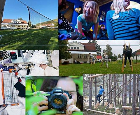 SOMMERSKOLE:  I to uker i sommer blir det stor aktivitet på Fjerdingstad grendehus i Skotselv.
