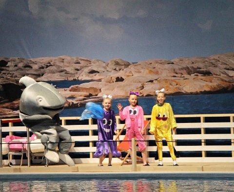 Blekkulf på «Sjøen for alle».