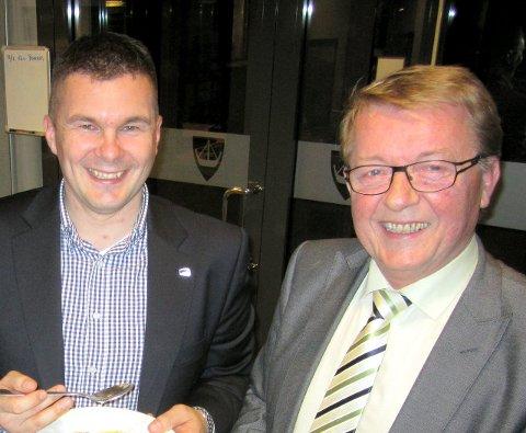 Ordfører: Blir Kim-Erik Ballovarre til venstre eller Eivin N. Borge ordfører i Hvaler?                         Arkivfoto