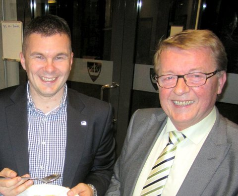 Samarbeid: Eivind Norman Borge fortsetter som ordfører på Hvaler etter at Kim-Erik Ballovare og Høyre bestemte seg for å støtte Frp i helgen.
