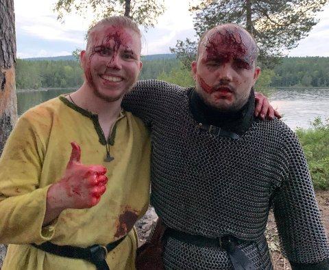 FILM: Christian og Ørjan inviterer til filmpremiere fredag kveld.