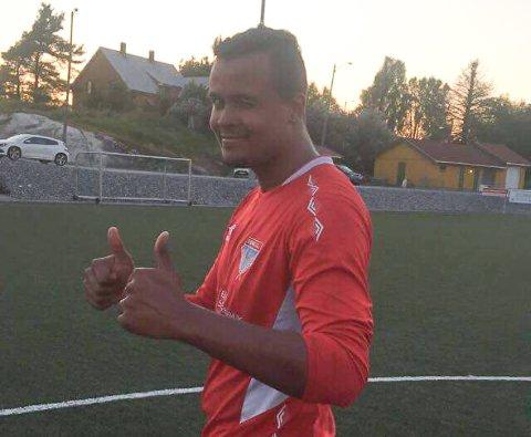 SCORET: Berg 2/Kok tapte, men målscorer Omar Pettersen var likevel brukbart fornøyd.