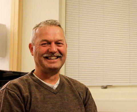 TRAPPER NED: Murmester Helge Olsen skal over i eiendomsutvikling etter mange år som murer med eget firma og gleder seg til mer fritid.