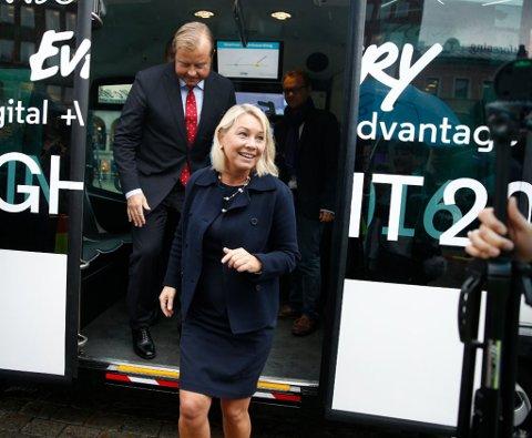 SLÅR SAMMEN FOND: Investeringsfondene for Nordvest-Russland og for Øst-Europa skal slås sammen, ifølge næringsminister Monica Mæland. Hun er klar på at fondet skal forankres i Sør-Varanger.