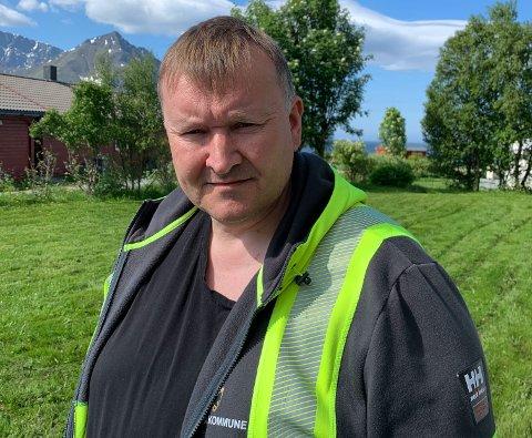 SAGT OPP: Frank Bækken har sagt opp sin stilling som administrasjonssjef i Loppa kommune.