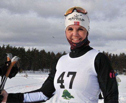 – Det kunne vært arrangert OL i disse løypene, sa Cecilie Seeberg. Foto: Øivind Eriksen