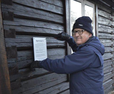 Pris: Bernt Evensen blir satt pris på i Våler for sin frivillige innsats gjennom flere år.foto: eva Fretheim