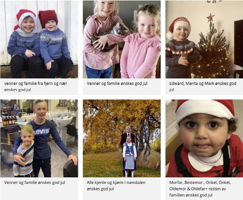 SEND DIN HILSEN: På NAs nettsider kan du sende din julehilsen til familie eller venner.