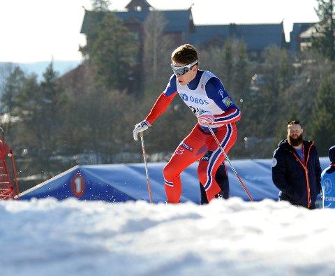 GODT LØP: Anders Gløersen gjorde et godt løp.