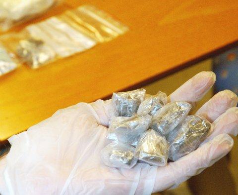 NARKOTIKA: Politiet har fått inn flere narkotikafunn den siste tiden. Arkivfoto