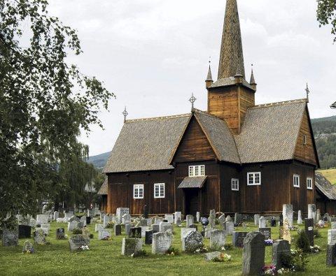 Kveldsseto: Martin Kleiven fortel om kyrkja.