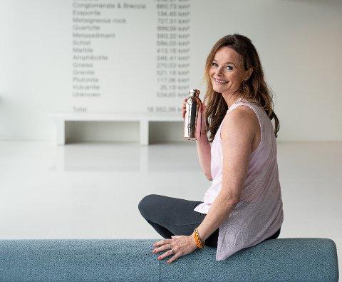 KNAKK KODEN OG STIFTET SELSKAP: Ingvill Weider, opprinnelig fra Namsos, har etablert det tilbudet hun selv søkte da hun slet med vekta på 90-tallet.