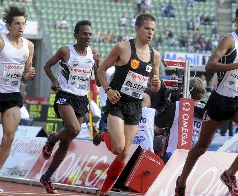 OL-DRØMMEN LEVER: Vegard Ølstad (midten) flytter hjem igjen fra USA til sommeren igjen. Fokuset er allerede mot OL i 2020. (Foto: Marthe Stenberg)