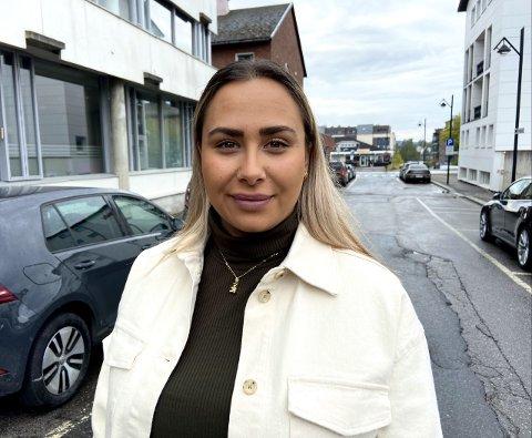 PILOTSTUDENT: Miriam Evensen (26) har begynt på pilotstudie og er klar for nye utfordringer.