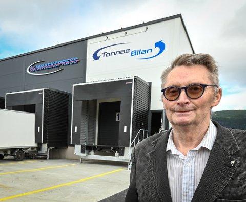 Oscar Hansen er fornøyd etter at TonnesBilan AS har blitt en del av Miniekspress.