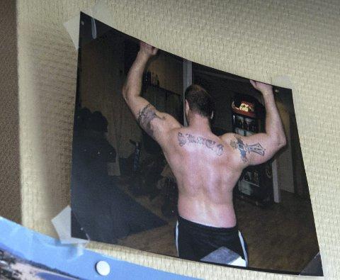 STERK MANN: Før slaget drev Terje Sørlie Skaug allsidig idrett og løftet 110 kilo. Fem år etter slaget har hann fortsatt styrke i kroppen han ikke kan kontrollere.