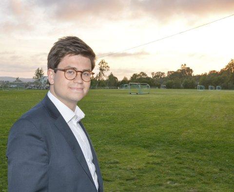 RACKETSPORT: Miljø- og teknikkutvalget, under ledelse av Espen A. Volden, ønsker folkets mening om et forslag om å samle racketidrettene på den ene halvdelen av Mini-Ekeberg.
