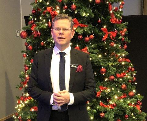 Lars Roalkvam setter spesielt stor pris på julelåten Fairytale of New York med The Pogues og Kirsty  MacColl.