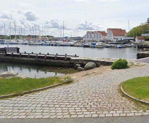 Det kan blant annet leies en leilighet i indre Tananger havn.