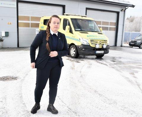 FYLKESENGASJEMENT: Tidligere Meråker-ordfører Kari Anita Furunes tok opp ambulanseberedskapen i fylkesutvalget. Nå vil hun ha et fylkeskommunalt engasjement i saken.