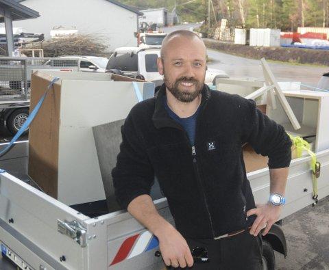 Martin Breen: Hadde så stor suksess med søppelkjøringen at han kom til et veiskille, der han måtte ta et valg.