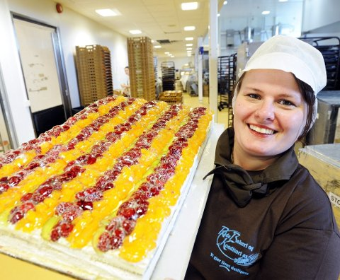 Markedsansvarlig Linda Fredriksen i Råde Bakeri AS.