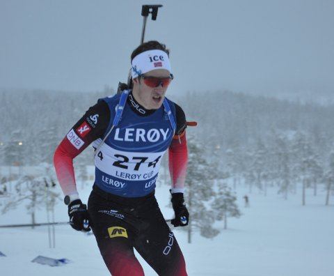 FANT FORMEN: Vebjørn Sørum fant formen på Lygna søndag.